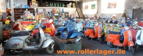 Sven Mader - Klassische Vespa Roller finden Sie auf: www.rollerlager.de